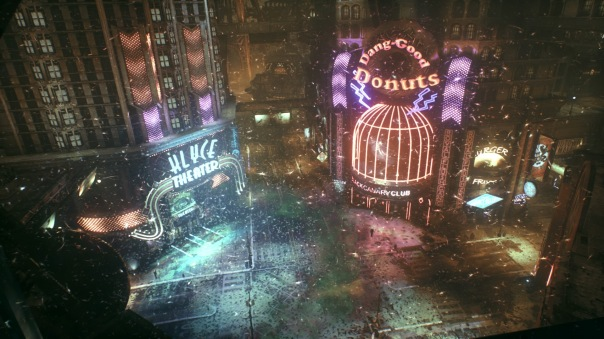 Gotham City is a sight to behold.
